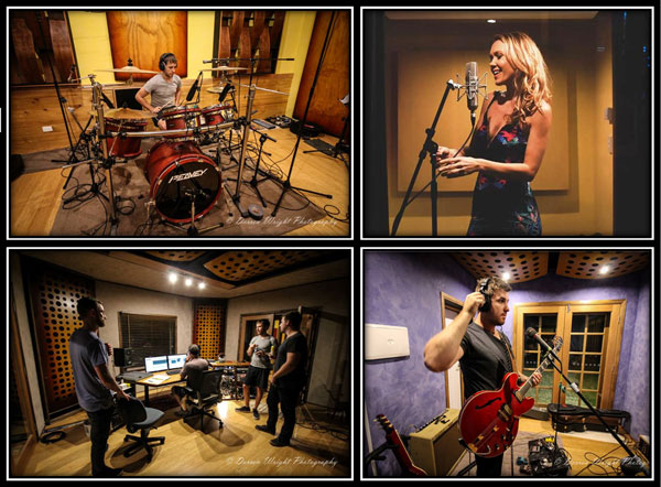 Group Picture - Recording Studio
